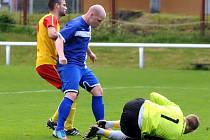 Derby mezi Frýdlantem a Brušperkem skončilo smírem 2:2.