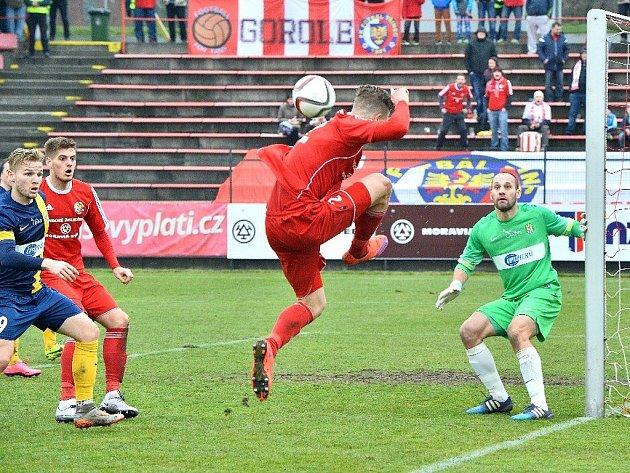 Ve slezském derby mezi Třincem a Opavou se nakonec body dělily.
