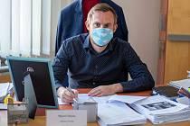 Marcel Sikora náměstek primátora statutárního města Frýdek-Místek, 8. dubna 2020.