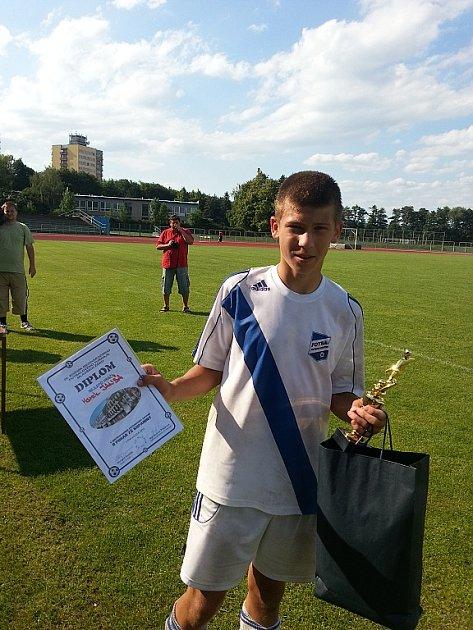 Nejlepším hráčem turnaje byl zvolen Marek Janša.