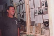 Miroslav Melichařík ve skalickém muzeu.