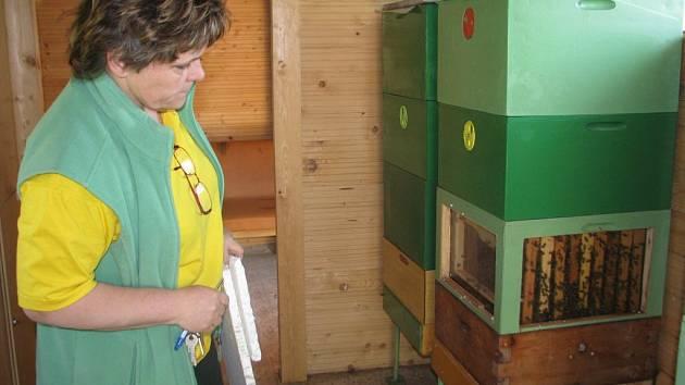 Dům včelařů v Chlebovicích uspořádal v sobotu 19. května kurz chovu matek.