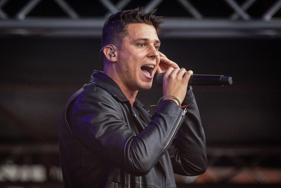 Festival FM City Fest, 12. července 2019 ve Frýdku-Místku. Na snímku kapela Sebastian.