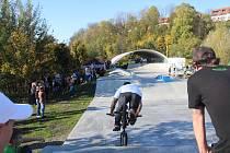 Slavnostní otevření skateparku ve Frýdku-Místku, říjen 2010.