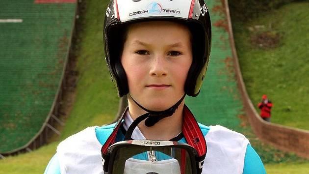 Beskydského turné se zúčastní také kozlovický skokan na lyžích Ondřej Krpec.  Ilustrační foto.