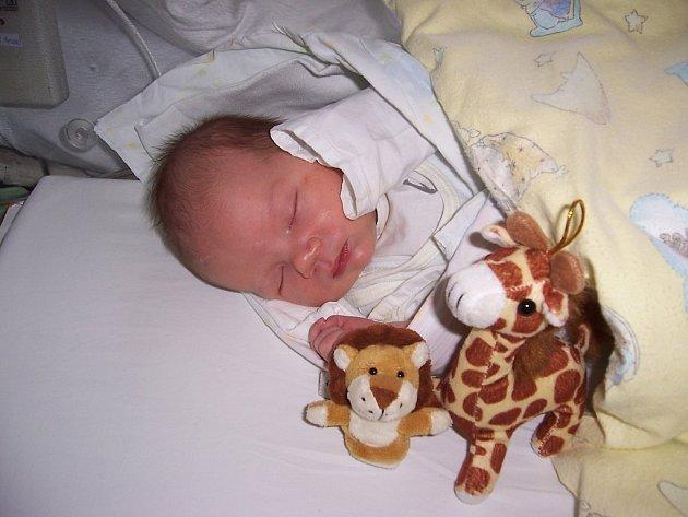 Filip Maskal z Frýdku-Místku, nar. 15.11., 49 cm, 3,57 kg, nemocnice Frýdek-Místek. Foto: Lucka Carbolová