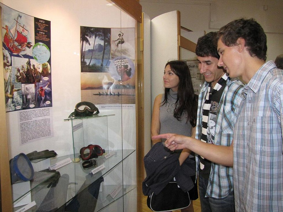 Výstava s potápěčskou tématikou v Muzeu Třineckých železáren v Třinci