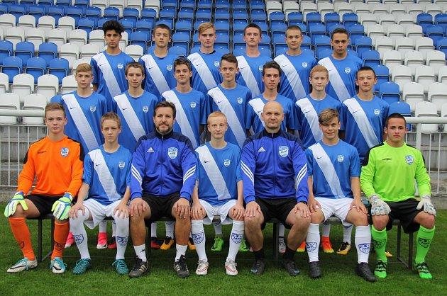 Fotbalisté MFK Frýdek-Místek U16.