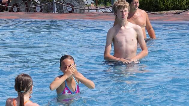Frýdecko-místecký aquapark, který lákal lidi celé prázdniny.