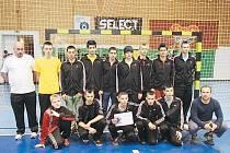 Starší žáci SKP Frýdek-Místek skončili na házenkářském MČR této věkové kategorie pátí.