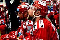 Tomáš Marcinko dal jediný gól svého mužstva v pátečním utkání.