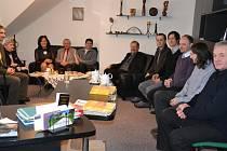 Setkání zástupců církví a města na začátku roku je v Třinci tradicí. Přítomní společně zhodnotili loňský rok.