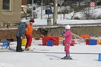 V Bukovci si na své přijdou i ti nejmenší, kteří mají svou sjezdovku.