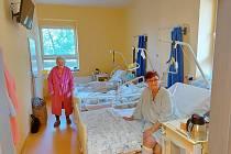 Nemocnice Třinec modernizuje prostory oddělení pro pacienty.