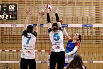 Volejbalistky Frýdku-Místku načaly sérii o deváté místo vítězně.
