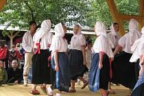 Tradiční lidová akce v Dolní Lomné