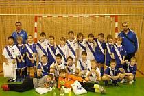 Mladí fotbalisté Frýdku-Místku.
