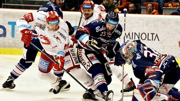 Derby rivalů je opět tady. Tentokrát na ostravském ledě.
