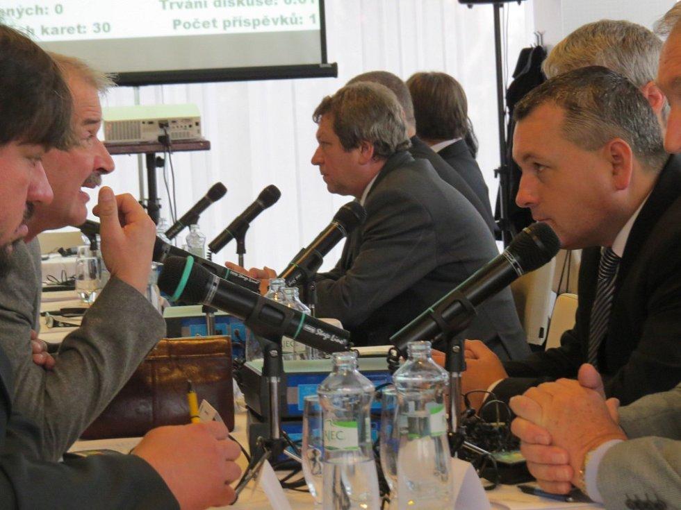 Ustavující zasedání třineckých zastupitelů.