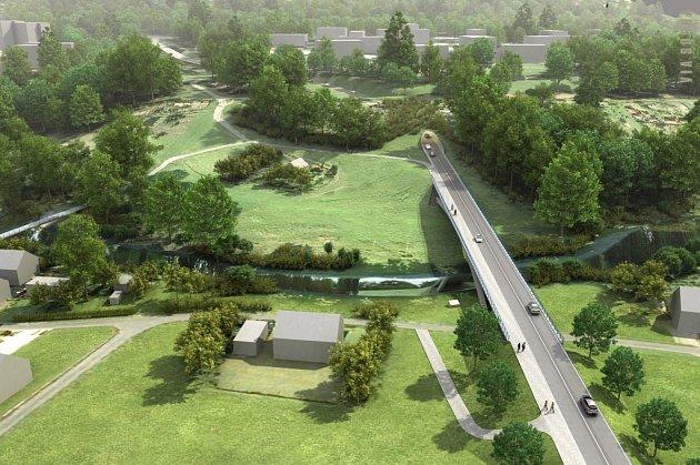 Dopravní propojení Via Sosna dostává konkrétní obrysy. Předpokládá se, že stavba vyjde zhruba na 200milionů korun.