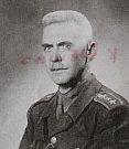 Podplukovník Karel Štěpina, velitel kasáren.