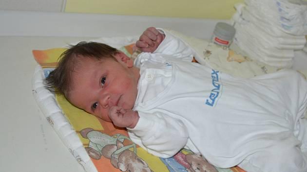 Jonáš Jurek je prvním dítětem letošního roku v Moravskoslezském kraji.