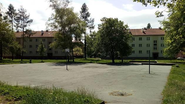 Vnitroblok Ostravská - ilustrační foto