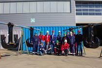 Jeřábové háky typu Ramshorn vyrobil český závod mezinárodní společnosti Huisman ve Sviadnově.