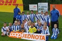 Mladé frýdecko-místecké fotbalové naděje skončily na domácím turnaji na 7. a 8. místě.