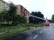 Výstrahu v podobě extrémního stupně nebezpečí kvůli vydatným dešťům vydal Český hydrometeorologický ústav pro oblast Moravskoslezského kraje.