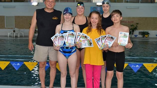 Mladí plavci z Plaveckého oddílu Frýdek-Místek.