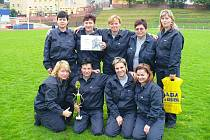 Nejlepším ženským týmem v závodech MČR dobrovolných hasičů bylo družstvo ze Skalice.