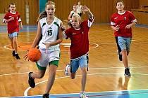Mladé basketbalistky BK Frýdek-Místek