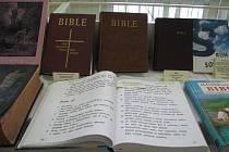 Vzácné bible byly před lety k vidění v Třinci. Konala se tam totiž putovní výstava Bible včera, dnes a zítra, což je jeden z projektů sdružení I4U. Ilustrační foto.