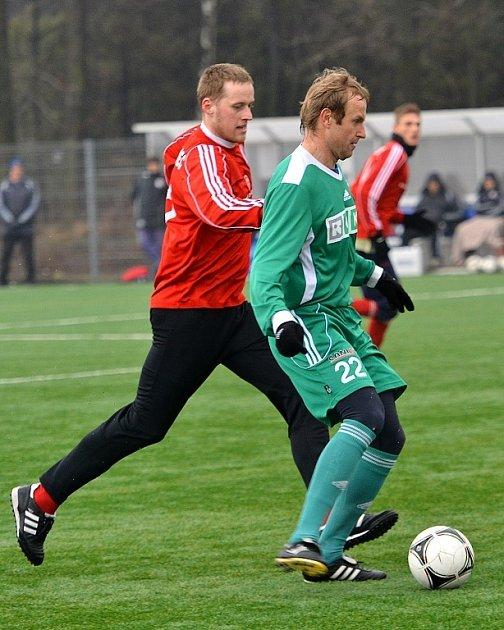 Fotbalisté Třince si vpřípravě poradili sdivizním béčkem Karviné 2:0.