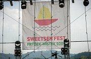 Sweetsen fest na Olešné.