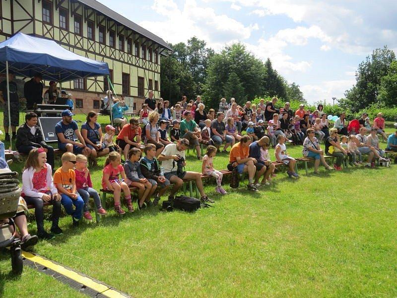 Ve frýdeckém parku Pod Zámkem se v sobotu uskutečnily Létohrátky.