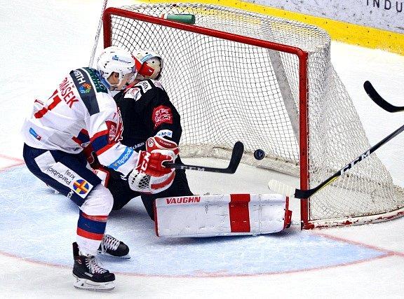 Hokejová extraliga - 51. kolo: Třinec - Pardubice