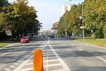 Ostravská ulice ve Frýdku-Místku.