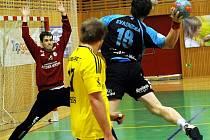 Ve vyrovnaném průběhu nakonec házenkáři Frýdku-Místku na lídra soutěže nestačili. Jičínu podlehli o gól 29:30.