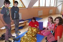 Žáci v Třinci soutěžili v poskytování první pomoci.