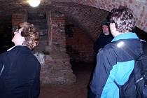 Krypta v klášteru kapucínů ve Fulneku byla velkým lákadlem pro návštěvníky.