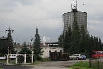 Areál firmy Agricoop v Oldřichovicích.