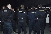 Policejní akce v nočních podnicích ve Frýdku-Místku.