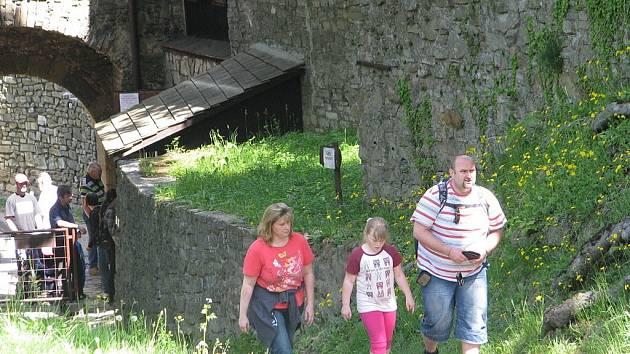 Hukvaldský hrad má návštěvníkům rozhodně co nabídnout