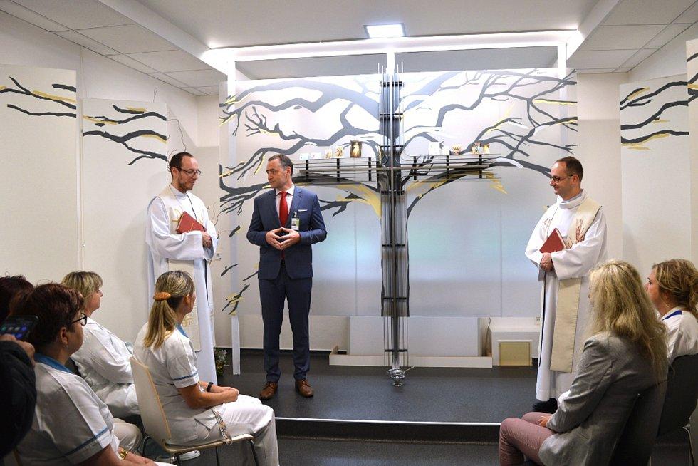 V nemocnici přibyla nová kaple.