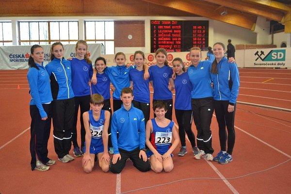 Atleti zTJ Slezan Frýdek-Místek se zúčastnili republikového šampionátu vchůzi, který se konal vpražské Stromovce.