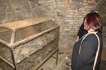 Do podzemí frýdecké baziliky je obvykle přístup zakázán. To by se ale mohlo v budoucnu změnit.