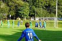 Dobratice díky zlepšenému výkonu a střelecké potenci Michala Hlaváče obrátily průběh utkání s Dolní Datyní, kterou porazily 3:1.