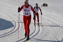 Dorostenecká běžkyně Eva Szotkowská.
